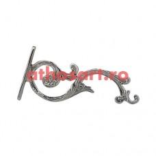 Agatatoare argintata (17 cm) cod P45-8446N
