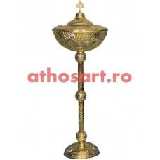 Anafurier din bronz aurit (46x124 cm) cod 90-605