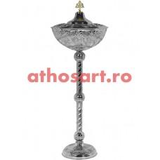 Anafurier din bronz nichelat (46x124 cm) cod 90-606