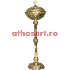 Anafurier din bronz aurit (39x120 cm) cod 90-607