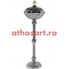 Anafurier din bronz nichelat (39x120 cm) cod 90-608