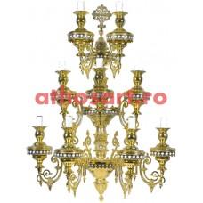 Aplica Athos bronz aurit (9 becuri) (80x160 cm) cod 70-495