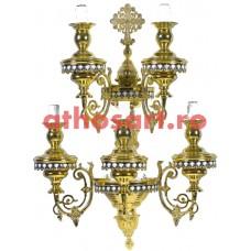 Aplica Athos bronz aurit (5 becuri) (52x70 cm) cod 70-496