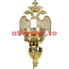 Aplica Athos bronz aurit (1 bec) (18x40 cm) cod 72-502