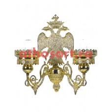 Aplica Athos bronz aurit (2 becuri) (18x40 cm) cod 72-503