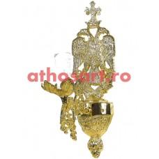 Aplica bronz aurit (1 bec) (10x33 cm) cod 83-544