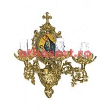 Aplica alama aurita (3 becuri) (14x36 cm) cod 83-549