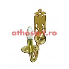 Aplica bronz aurit (1 bec) (23x24 cm) cod K644