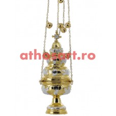 Cadelnita aurita si argintata (13x31 cm) (0.95 kg) cod 50-327