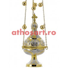 Cadelnita aurita si argintata (13x30 cm) (0.90 kg) cod 50-328