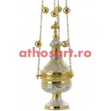 Cadelnita aurita si argintata (13x30 cm) (0.90 kg) cod 50-329