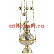 Cadelinita aurita si argintata (10x23 cm) (0.75 kg) cod 52-342