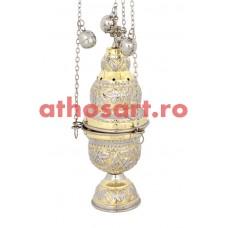 Cadelnita aurita si argintata (25 cm) cod P63-9391GN