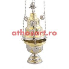 Cadelnita aurita si argintata (27 cm) cod P62-9392GN