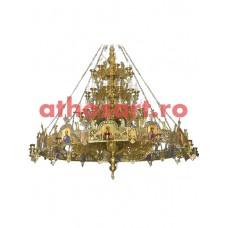 Candelabru bronz cu Horos (85 becuri) (255x260 cm) cod 73-505