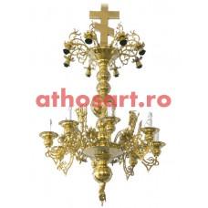 Candelabru bronz (16 becuri) (80x135 cm) cod 73-506