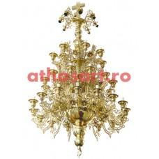 Candelabru bronz (44 becuri) (110x220 cm) cod 73-507