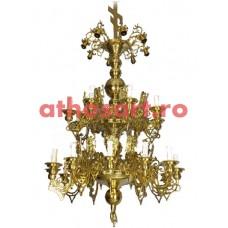 Candelabru bronz (28 becuri) (94x175 cm) cod 73-508