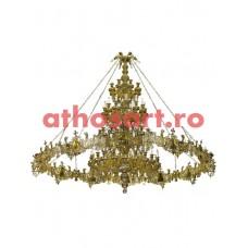 Candelabru bronz cu Horos  (100 becuri) (330x290 cm) cod 75-510