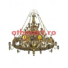 Candelabru bronz cu Horos (138 becuri) (320x290 cm) cod 77-514