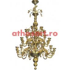 Candelabru bronz (80 becuri) (120x200 cm) cod 77-515