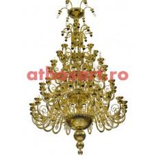 Candelabru bronz (120 becuri) (150x280 cm) cod 77-516