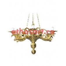 Candelabru bronz (12 becuri) (78x84 cm) cod 82-536