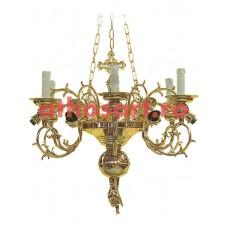 Candelabru bronz (12 becuri) (68x87 cm) cod 82-537