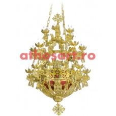 Candelabru Bizantin aluminiu (31 becuri) (65x112 cm) cod 86-559
