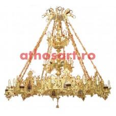 Candelabru bronz (70 becuri) (230x280 cm) cod K251-11
