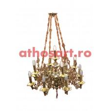 Candelabru aurit si argintat (13 becuri) (85x120 cm) cod K261-03