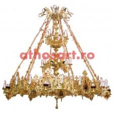 Candelabru aurit (70 becuri) (170x200 cm) cod K264-11
