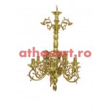 Candelabru aurit (6 becuri) (55x75 cm) cod K267-41A