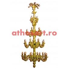 Candelabru alama aurit (60 becuri) (115x220 cm) cod K268-30