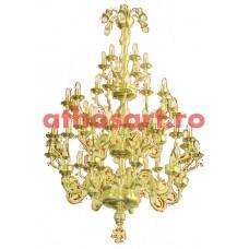 Candelabru alama aurit (75 becuri) (120x220 cm) cod K270-09