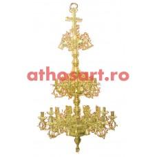 Candelabru alama aurit (36 becuri) (80x165 cm) cod K271-36