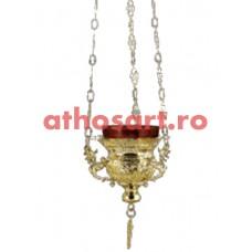 Candela Imparateasca aurita (11x10 cm) cod 45-285