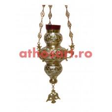 Candela Imparateasca aurita si argintata (21x32 cm) cod K175