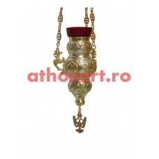 Candela Imparateasca aurita si argintata (17x23 cm) cod K177