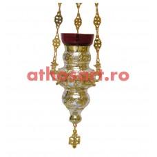 Candela Imparateasca aurita si argintata (14x21 cm) cod K179