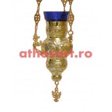 Candela Imparateasca aurita si argintata (12x18 cm) cod K181