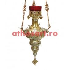 Candela Imparateasca aurita si argintata (15x31 cm) cod K184