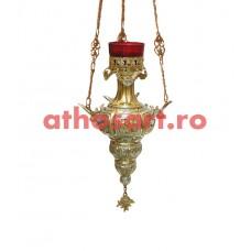 Candela Imparateasca aurita si argintata (15x25 cm) cod K185