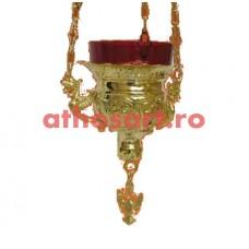Candela Imparateasca aurita (11x10 cm) cod K206