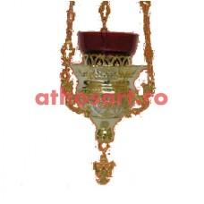 Candela Imparateasca aurita si argintata (11x10 cm) cod K206D