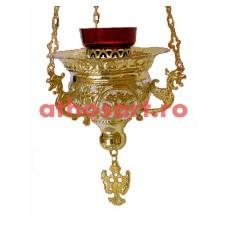 Candela Imparateasca aurita si argintata (16x14 cm) cod K210D