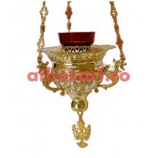 Candela Imparateasca aurita si argintata (20x16 cm) cod K212D