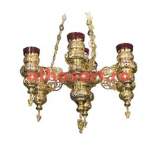 Candela aurita cu 7 brate (65x90 cm)  cod 48-314