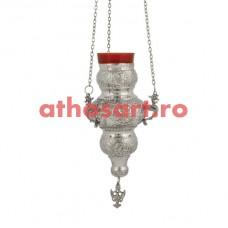 Candela Imparateasca argintata (21 cm) cod P42-409N