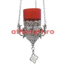 Candela Imparateasca argintata (12 cm) P36-9503N